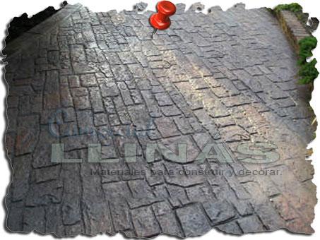 Molde hormigón impreso Piedra Apalache