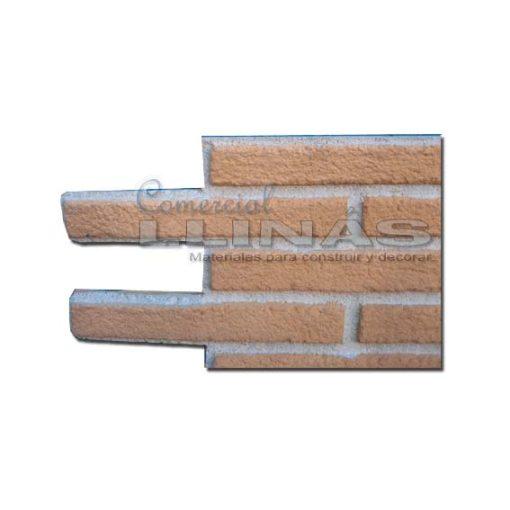 Ladrillo poliuretano Panel Tosco. Detalle