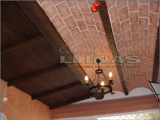 Bóveda poliuretano Árabe plano. Ejemplo