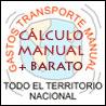 Cálculo transporte manual