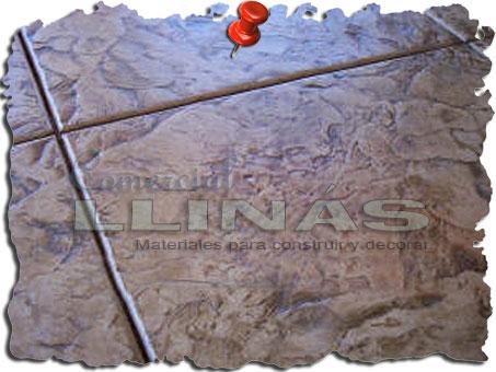 Molde hormigón impreso Losa Rambla
