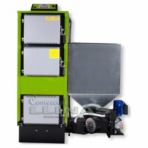 Caldera doméstica policombustible EM 30 kw