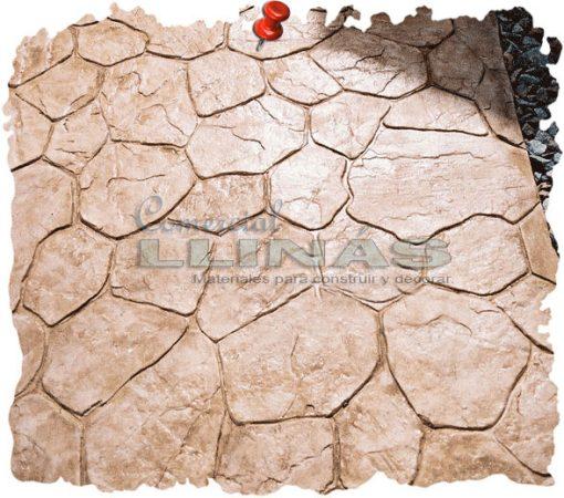 Molde hormigón impreso Piedra Cantabria