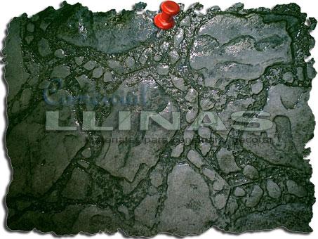Molde hormigón impreso Piedra Jardín
