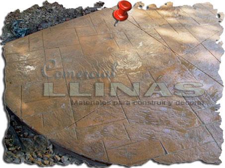 Molde hormigón impreso Sillería Bolonia