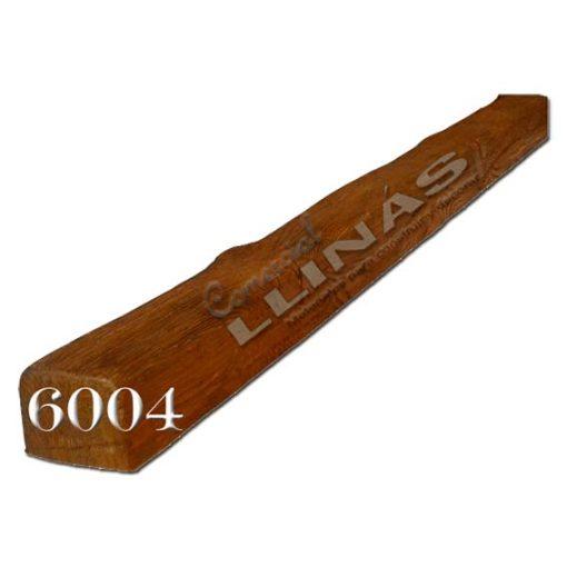 Viga rústica de poliuretano 6004 de 8cm x 6cm x 3m