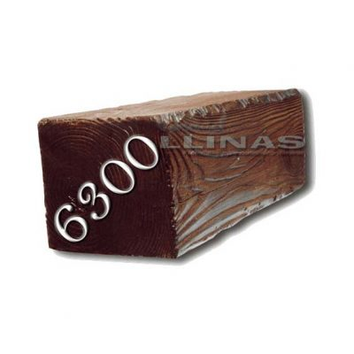 Viga rústica de poliuretano 6300 de 17cm x 15cm x 4m