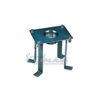 Anclaje de cañón de agua para piscina hormigón
