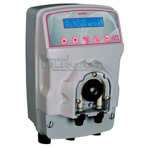 Bomba dosificadora peristáltica CTX MyPool pH Rx