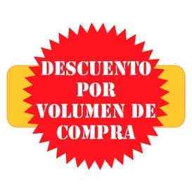 Productos con descuento por volumen