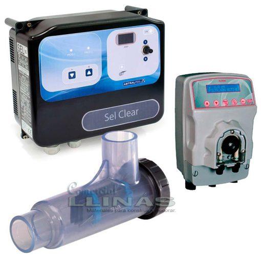 Clorador salino Sel Clear AstralPool más pH MyPool