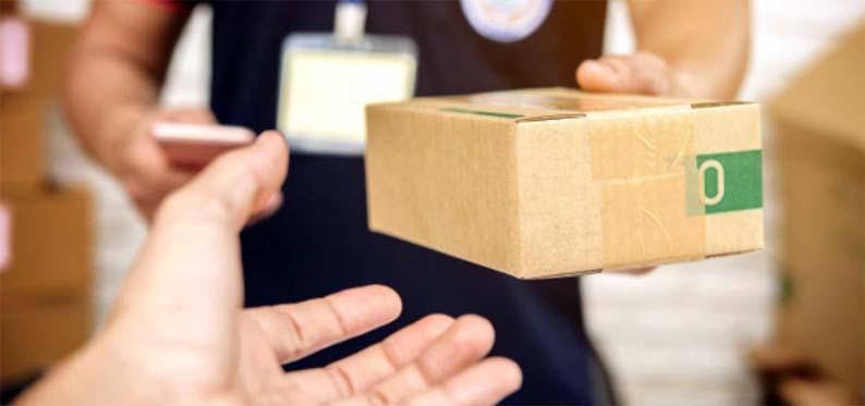 Como podemos recepcionar si nuestro pedido online, está dentro de la caja que nos dejan en casa