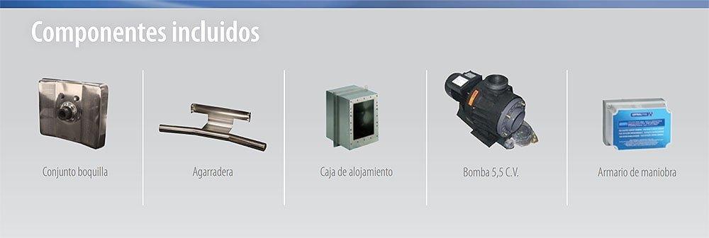 Componentes Equipo de natación contracorriente BASIC NL de AstralPool