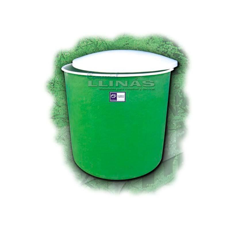 Dep sitos cil ndricos con tapa comercial llin s - Depositos de agua rectangulares ...