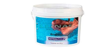 Desinfección del agua de la piscina por Bromo