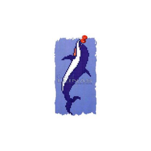 Dibujo fondo piscina Delfín 1
