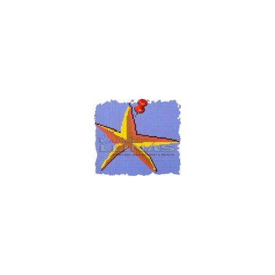 Dibujo fondo piscina Estrella de mar