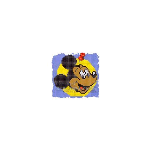 Dibujo fondo piscina infantiles Micky Mouse