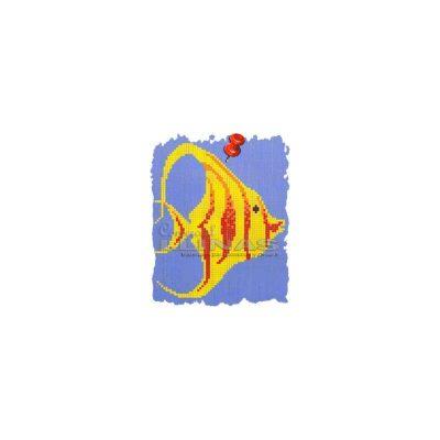 Dibujo fondo piscina Pez Escalar