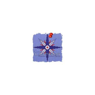 Dibujo fondo piscina Varios Rosa de los vientos 1