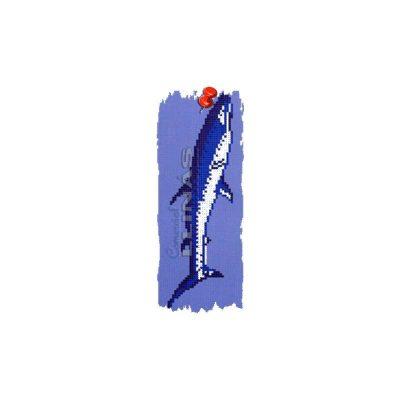Dibujo fondo piscina Tiburón