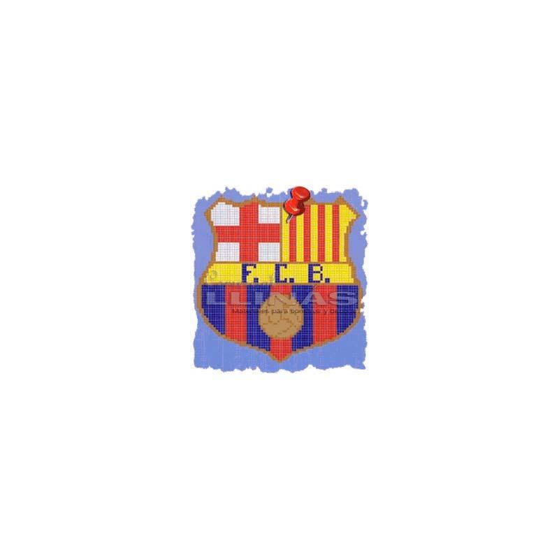 Dibujo Fondo Piscina Escudos Fútbol Barcelona Comercial Llinás