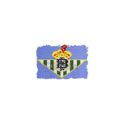 Dibujo fondo piscina Escudos Fútbol Real Betis