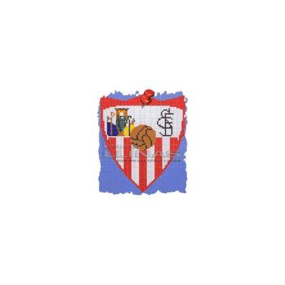 Dibujo fondo piscina Escudos Fútbol Sevilla