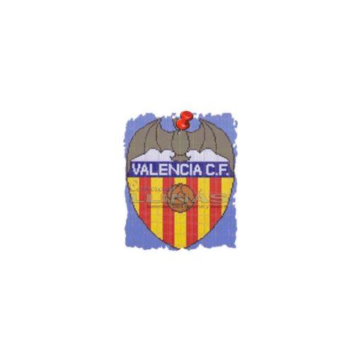 Dibujo fondo piscina Escudos Fútbol Valencia