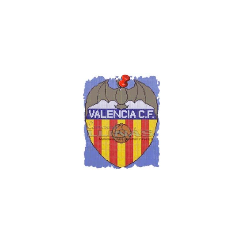 Dibujo Fondo Piscina Escudos Fútbol Valencia Comercial Llinás