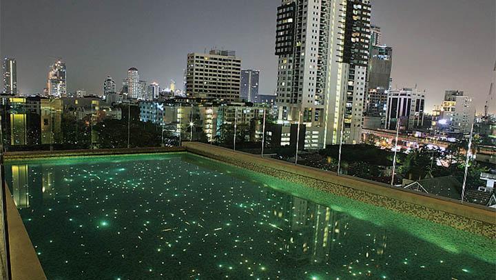 Estrellas en tu piscina