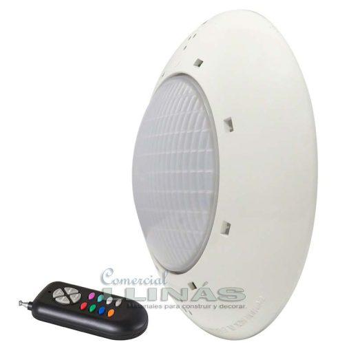 Proyector LED piscina Plano RGB + mando