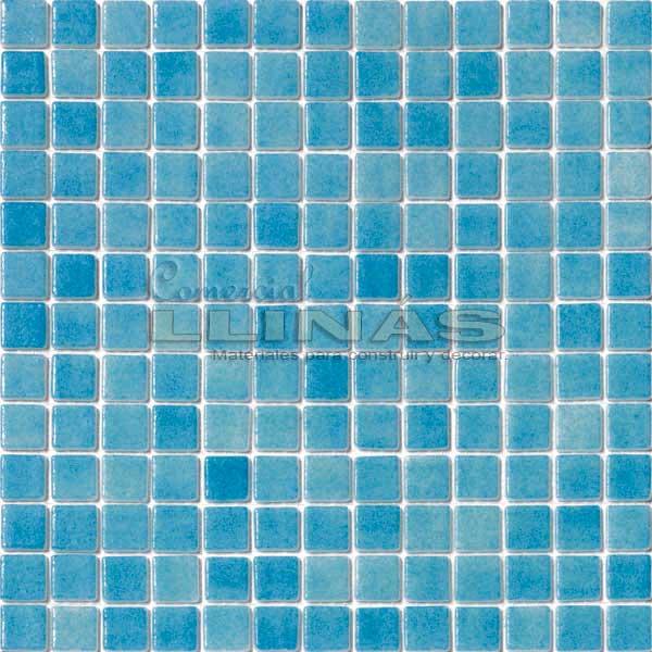 Gresite piscina serie niebla azul celeste comercial llin s - Gresite piscinas precio ...