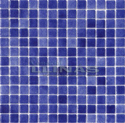 Gresite piscina azul oscuro niebla. Placa completa