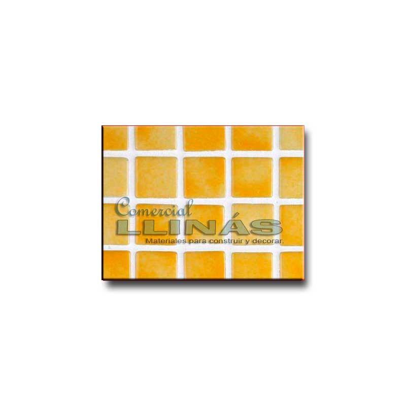 Gresite piscina serie niebla amarillo comercial llin s - Precio gresite piscina ...