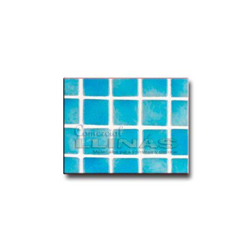 Gresite color niebla azul turquesa