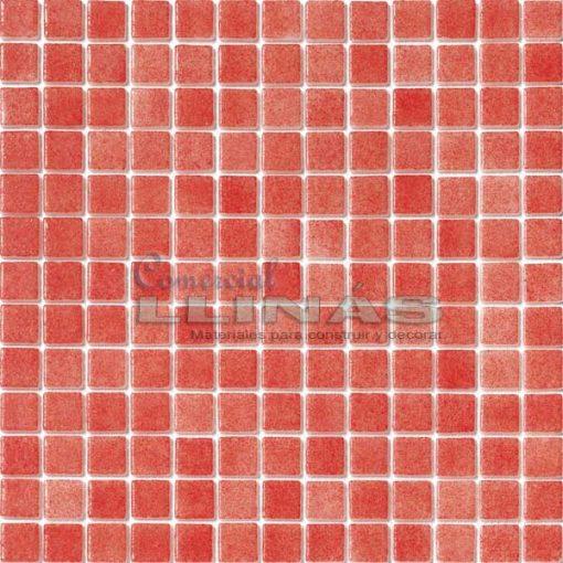 Gresite piscina rojo niebla. Placa completa
