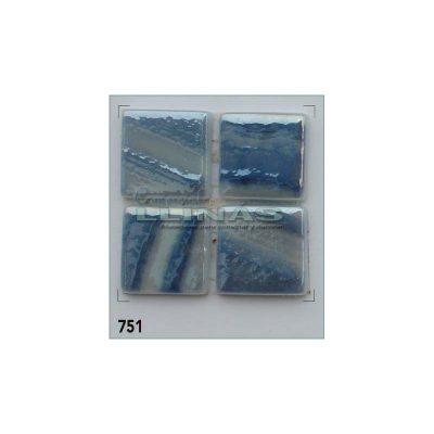 Gresite serie Titanium Pincel Azul cobalto