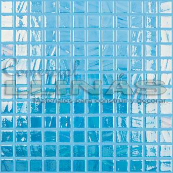 Gresite serie Titanium Pincel Celeste Turquesa