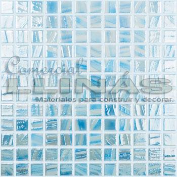 Gresite serie Titanium Pincel Azul celeste