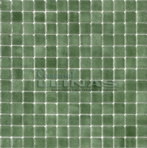 Gresite piscina verde niebla. Placa completa