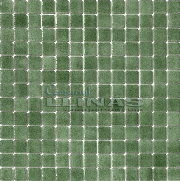 Gresite piscina serie niebla verde comercial llin s for Gresite piscina precio m2