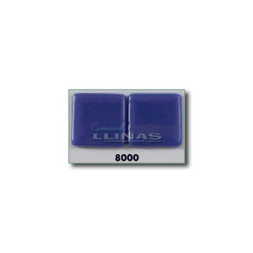 Gresite piscina serie lisa Azul marino claro