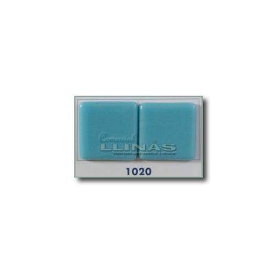 Gresite piscina serie lisa azul turquesa