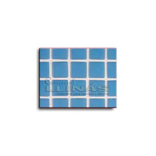 Gresite piscina serie lisa Azul celeste