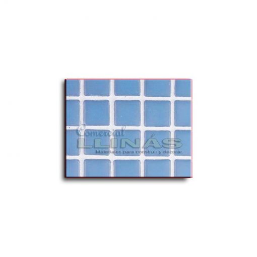Gresite piscina serie lisa Azul celeste claro