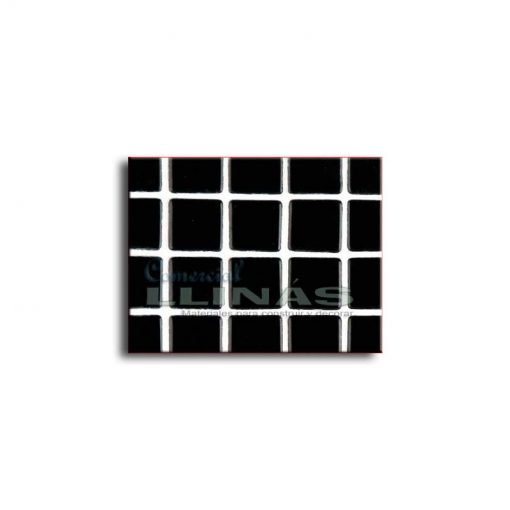 Gresite piscina serie lisa Negro
