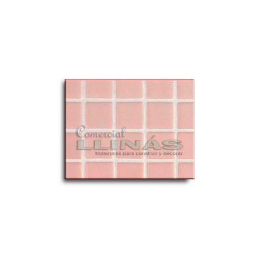 Gresite piscina color rosa liso