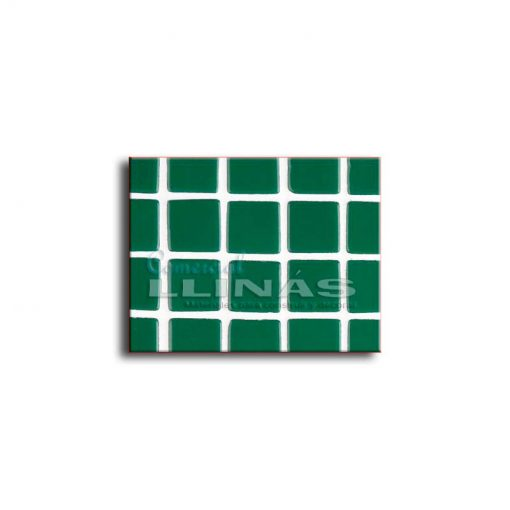 Gresite piscina color verde oscuro liso