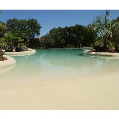 Kits revestimiento piscinas de ARENA de SÍLICE NATURAL
